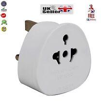 3Pin Universal Plug Travel Adaptor To UK-USA AUS AU US To UK New Visitor Adaptor