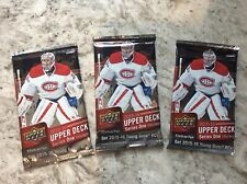 2015-16 Upper Deck Hockey Series 1 Hobby Sealed Pack