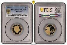 2003 Australia Two Dollar, $2 PCGS - PR69DCAM -158 D10-1581