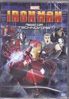 Dvd Marvel **IRON MAN • RISE OF TECHNOVORE** nuovo 2013