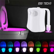 Lampe wc LED 8 Couleurs avec Capteur Mouvement Automatique veille Lumière ESS