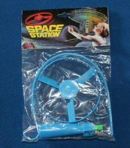Sunning Space Station Flying Saucer Launcher Unopened Vintage Toy