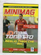 MINIMAG CAMPIONATO 2008-2009 - ROMA N. 194 MAX TONETTO