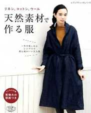 Natural Material Linen Cotton Wool Clothes 2015 - Japanese Craft Book SP3