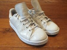 adidas Originals Stan Smith White Patent Leather Casual Trainers UK 4.5 EU 37
