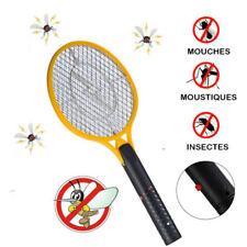 Raquette Tapette électrique CLICK tue mouche moustiques guêpes anti insectes 52c