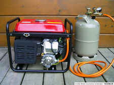 LPG Umrüstsatz Stromgenerator Stromerzeuger Generator 4 Takt Einzylinder