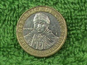 CHILE 100 Pesos 2008 ALMOST UNC