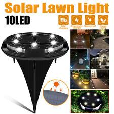 LED énergie Solaire Sol Lumières plancher terrasse Patio Extérieur Jardin Pelou
