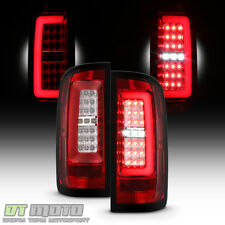 Red Clear 2015-2018 Chevy Colorado Full LED Tube Tail Lights Lamps Left+Right
