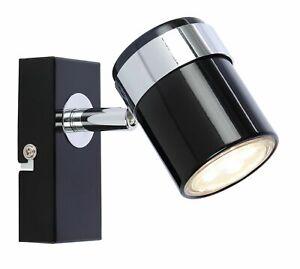 🆕 💡Black single LED Ceiling or Wall Spotlight Spot Lights Fittings
