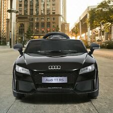 Electric Car Audi TT RS Kids Ride On 12V With Remote Control, MP3, LED Lights RC