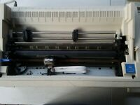 Epson LQ-1070 Dot Matrix Printer For Parts NOT WORKING