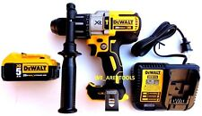 "DeWalt DCD996 20V Brushless 1/2"" Hammer Drill, (1) DCB205 5.0 Battery,  Charger"