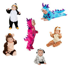 BABY TODDLER BOY GIRL DELUXE ANIMAL COSTUMES OUTFITS MONKEY PENGUIN 6-18 MONTHS