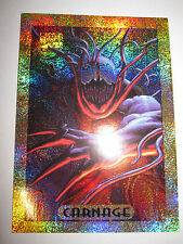 MARVEL MASTERPIECES SERIE 1994 CARNAGE 2 OF 10 GOLD FOIL CARD MINT