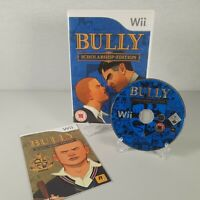 Bully Scholarship Edition Nintendo Wii Action Adventure Video Game Manual PAL