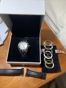 Pandora Imagine Watch With 2 Strapes & 7 Bezels Comes In Box