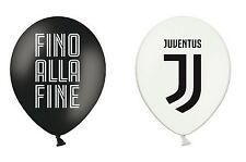 """Palloncini in Lattice 12"""" Juventus Prodotto Ufficiale 12 pz"""