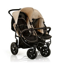 Hauck Roadster Duo SL Caviar/Almond Pushchairs Double Seat Stroller