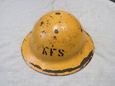 ORIGINAL WW 2 PATTERN A.F.S YELLOW  Mk 2 HELMET