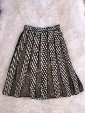 JCREW Collection Lace Panel Skirt In Ratti Geometric Tile Print F7215 6 $450