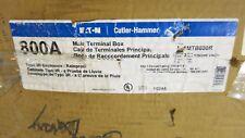 Cutler Hammer 1Mtb800R, 1 Phase 800 Amp 120/240 Volt Tap Box New- Mb62