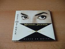 MAXI CD Michael Jackson-Black or White - 1991