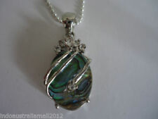 Silver Plated Shell Fashion Necklaces & Pendants