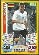 TOPPS MATCH ATTAX  BRAZIL 2014 WORLD CUP- #127-GERMANY-MIROSLAV KLOSE