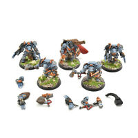 SPACE WOLVES 5 wolf guard Terminators #1 WELL PAINTED terminator 40K