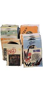 Lot Michael Jackson, Jackson 5, Jacksons Vinyl 45 RPM 7 Inch Singles
