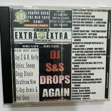 RARE! DJ S&S Drops a Bomb Again SNS Mixtape Hip Hop Rap Mix CD