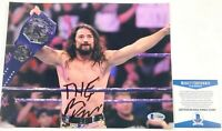 WWE NXT Brian Kendrick Autographed 8X10 Photo Signed Wrestlemania Beckett COA