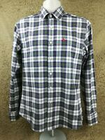 Men's Jack Wills Long Sleeved Check/Plaid Shirt w/ Fabric Cufflinks Small/S #C1