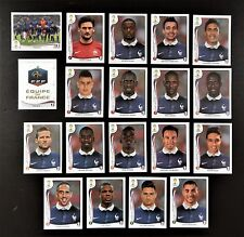 Panini FIFA World Cup Brazil 2014 Complete Team France + Foil Badge