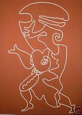 Charles Lapicque Lithographie signée Art Abstrait Pop Art Figuration Libre
