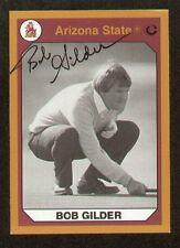 Bob Gilder signed Arizona State Collegiate Collection