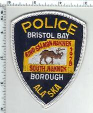 Bristol Bay Borough Police (Alaska) 1st Issue Shoulder Patch