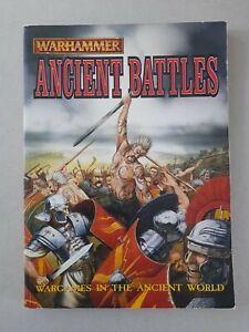Warhammer Ancient Battles - ancients wargames rules