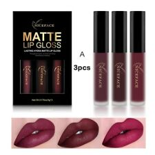 3 Pcs Longue Durée Waterproof Liquide Rouge à Lèvres Mat Cosmétique Lèvre