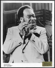 ~ Blues Hamonica James Cotton Original 1980s Agency Promo Photo