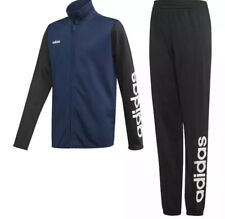 Adidas Tracksuit Youth Size 15-16 Years Black/Navy