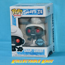 The Smurfs - GNAP! Black Smurf Pop! Vinyl Figure