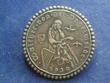 Brosche aus Silber mit der 2 Schillig Österreich   W/20/354