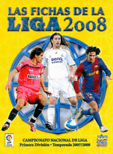 Las Fichas de la Liga 2008 Mundicromo. Colección completa con archivador