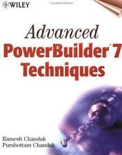 Advanced PowerBuilder(r) 7 Techniques-ExLibrary