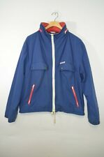 VINTAGE MCGREGOR 90's Windbreaker Jacket Blue with red and white  Size XL