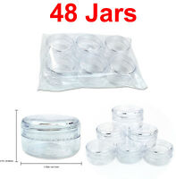 48 Jars 15 Gram/15ML High Quality Lotion Cream Cosmetic Sample Jar Containers