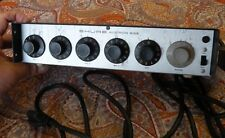 Shure M68 4-Ch Professional Microphone Mixer Preamp 120VAC 50/60 HERTZ 3 Watts